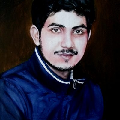 photo to painting. oil painting artist in india