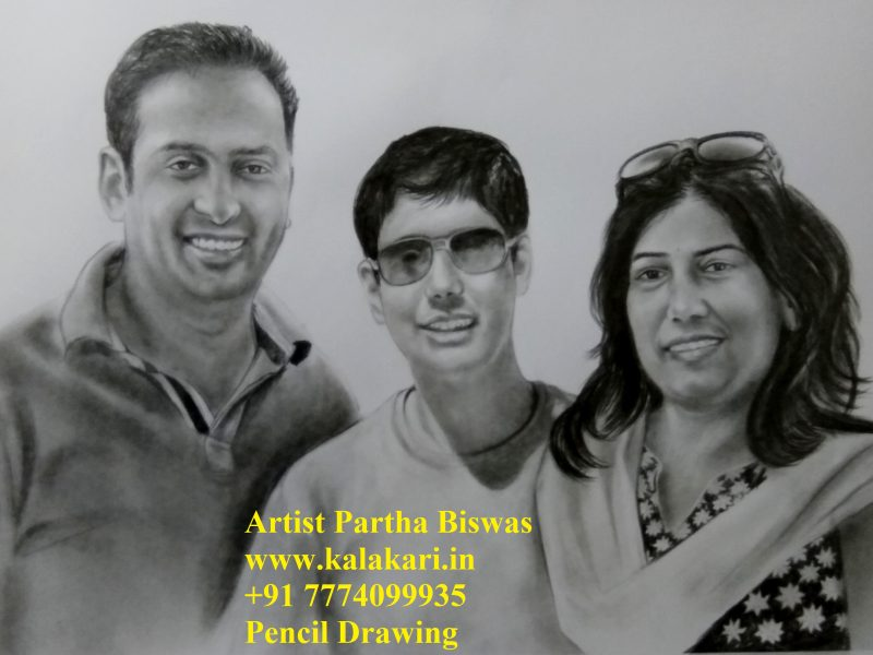 Pencil sketch online order