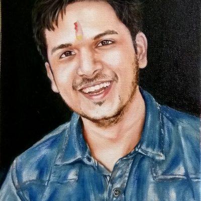 oil portrait painting gift