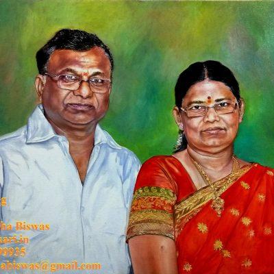 Personalized portrait paintign